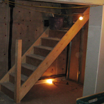 After photo of basement conversion in semi-detached house in Meanwood, Leeds