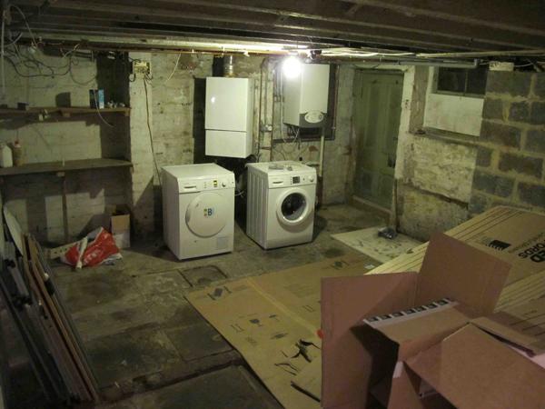 ... Before the cellar conversion photo 3 & Do The Basement - Victorian Basement Conversion