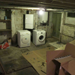 Before the cellar conversion photo 3